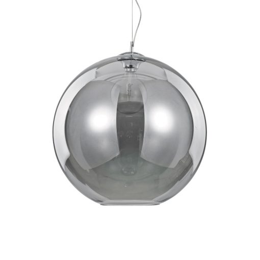 Moderný luster so sférickým difúzorom v dymovej farbe NEMO SP1 D50   Ideal Lux