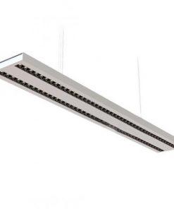 Pracovné svietidlo - moderná rada zavesených lineárnych svetiel