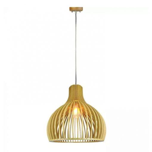 Závesné kreatívne drevené svietidlo - BIG HARBOR