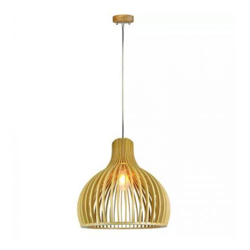 Závesné kreatívne drevené svietidlo - HARBOR