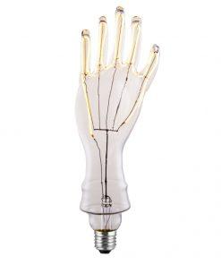 Umelecká Led žiarovka, Mano Led, 5W, E27, 380lm, Stmievateľná, Teplá biela | Daylight Italia.