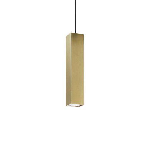 Moderné kuchynské závesné svietidlo SKY SP1 v brúsenej mosádznej farbe | Ideal Lux