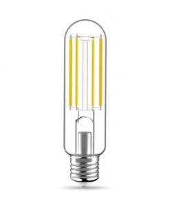 Priehľadná LED žiarovka - T38, 14W, E27, 2350lm, 3000K | Daylight Italia