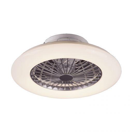 Stropné svietidlo s ventilátorom DALFON, 30W, 1700lm, diaľkové ovládanie