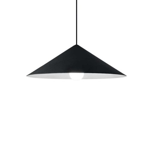 Svietidlo v modernom dizajne v čiernej farbe CHILI-1 SP1 | Ideal Lux