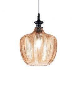 Dizajnové sklenené svietidlo LORD SP1 so zlatým sklom | Ideal Lux