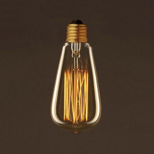 EDISON žiarovka - TEARDROP - E27, 25W, 60lm